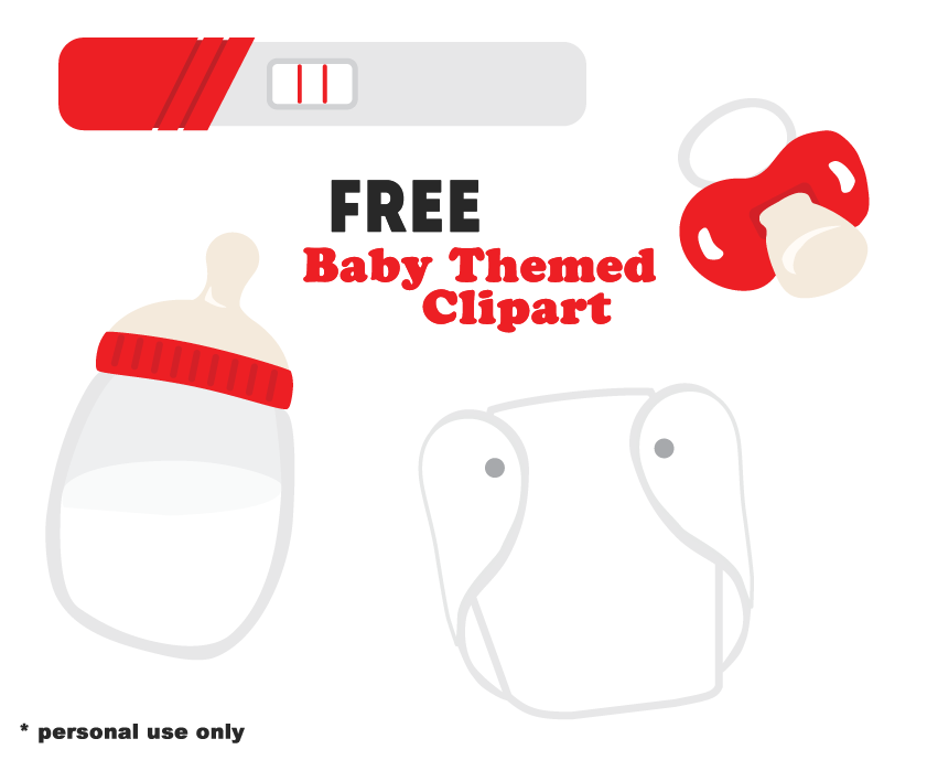 Free Personal Use Baby and Pregnancy Clipart